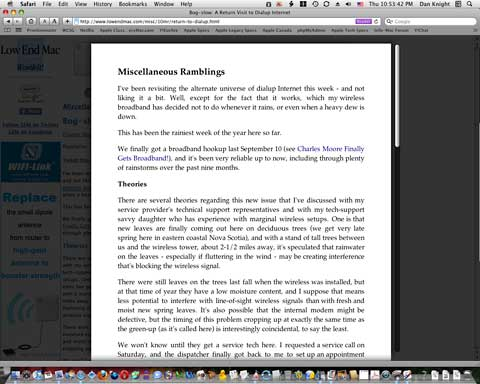 safari reader1 Overview Of Apple iOS 5 From WWDC 2011