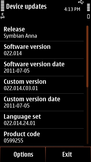 2.After updating Firmware Update Your Nokia N8,C7,E7 & C6 01 Phones To Symbian Anna OS ,Fix Symbian Anna Phone Setup:Feature Not Supported Error