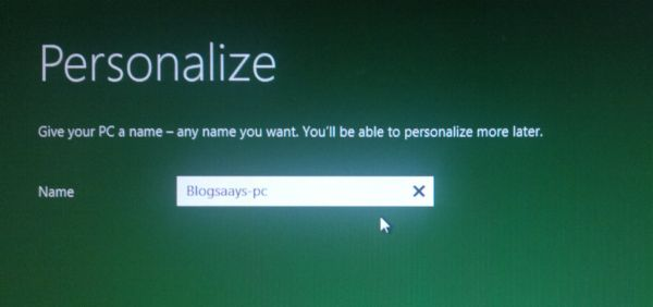 4.Assigning PC Name How To Install & Dual Boot Windows 8 With Windows XP & Windows 7