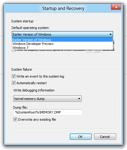 Windows 8 Startup & Recovery
