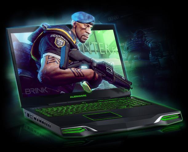 Gaming Laptop Alienware M18x