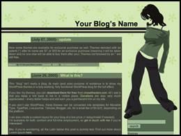image002 6 Free Wordpress Themes for Free Wordpress Sites