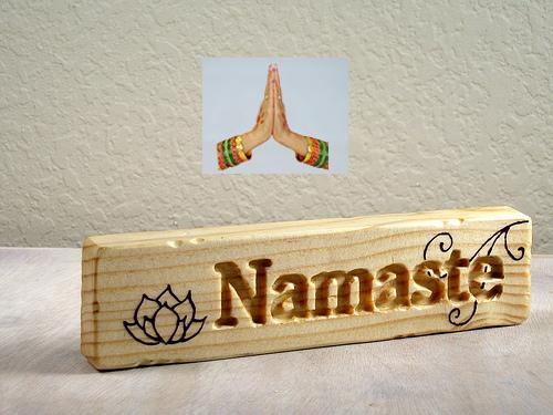 Namaste Word Thank You