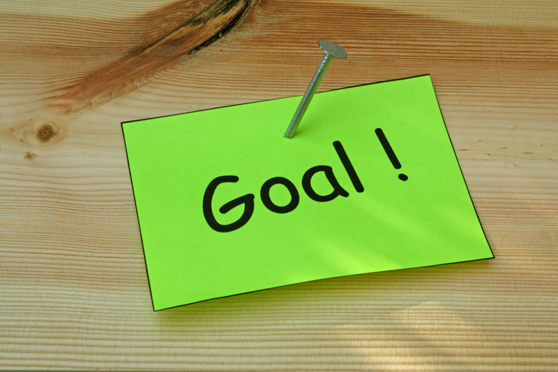 shot term goal blogging