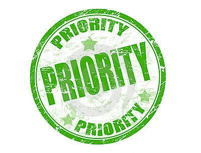 Work in priority