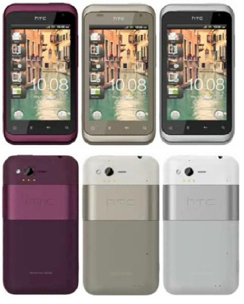 HTC RHYME Design