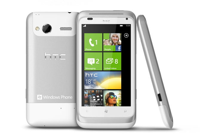 HTC Radar Windows Phone