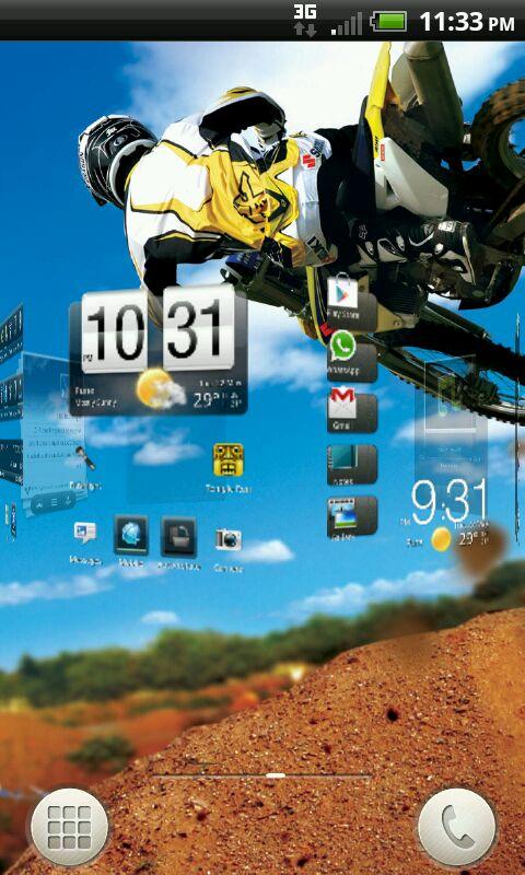 HTC RHYME User Interface