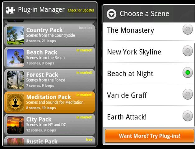 Android Lightning Bug-Sleep Clock apps