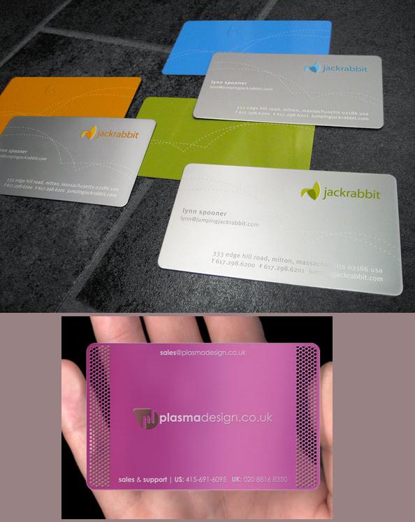 Best business card design metal