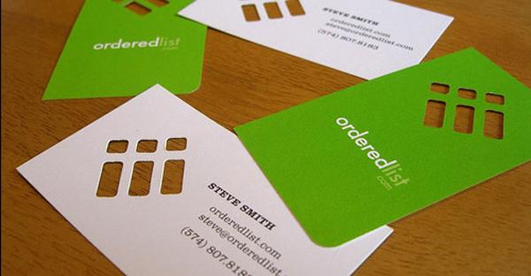 Best design of business card