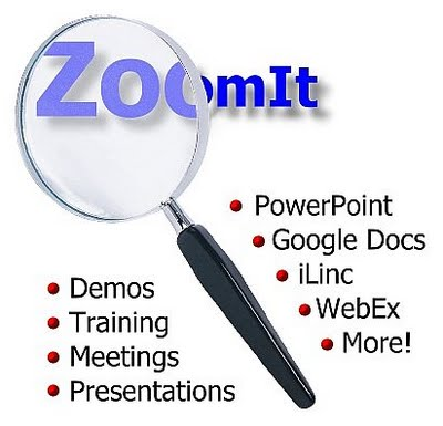 ZoomIt-windows-mac zooming tool