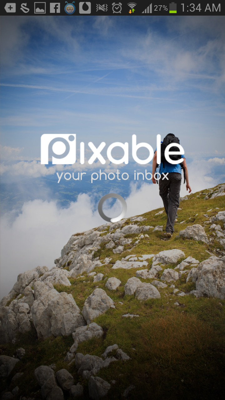 Pixable Facebook login