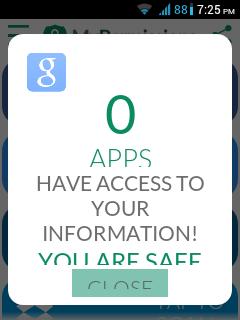 app access mypermissions
