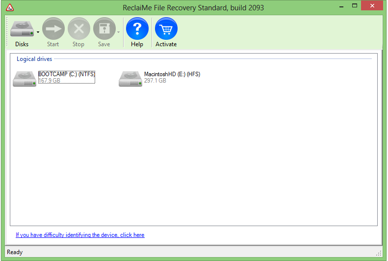 ReclaimaMe Daata recover tool