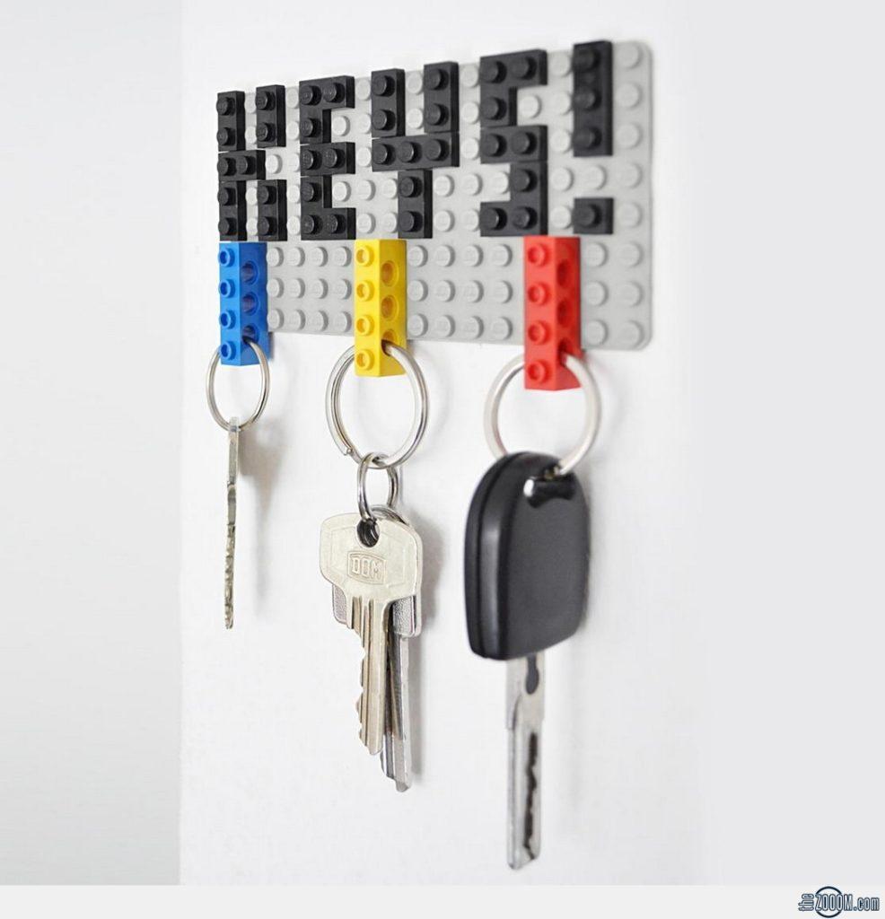LEGO-Key-Hanger