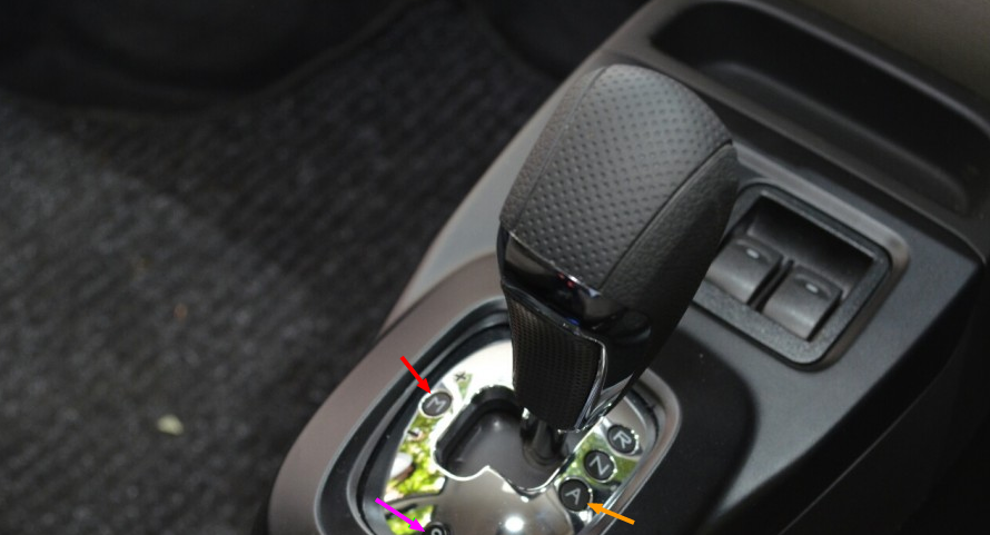 2015 Tata Nano GenX AMT gearlever