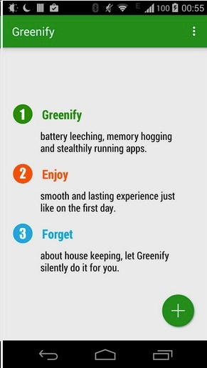 Greenify Android App