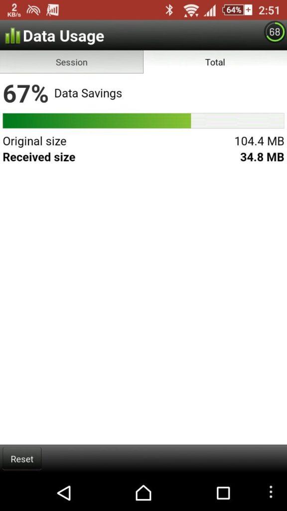 OperaMini save Data
