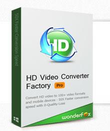 WonderFox HD Video Converter Factory Pro