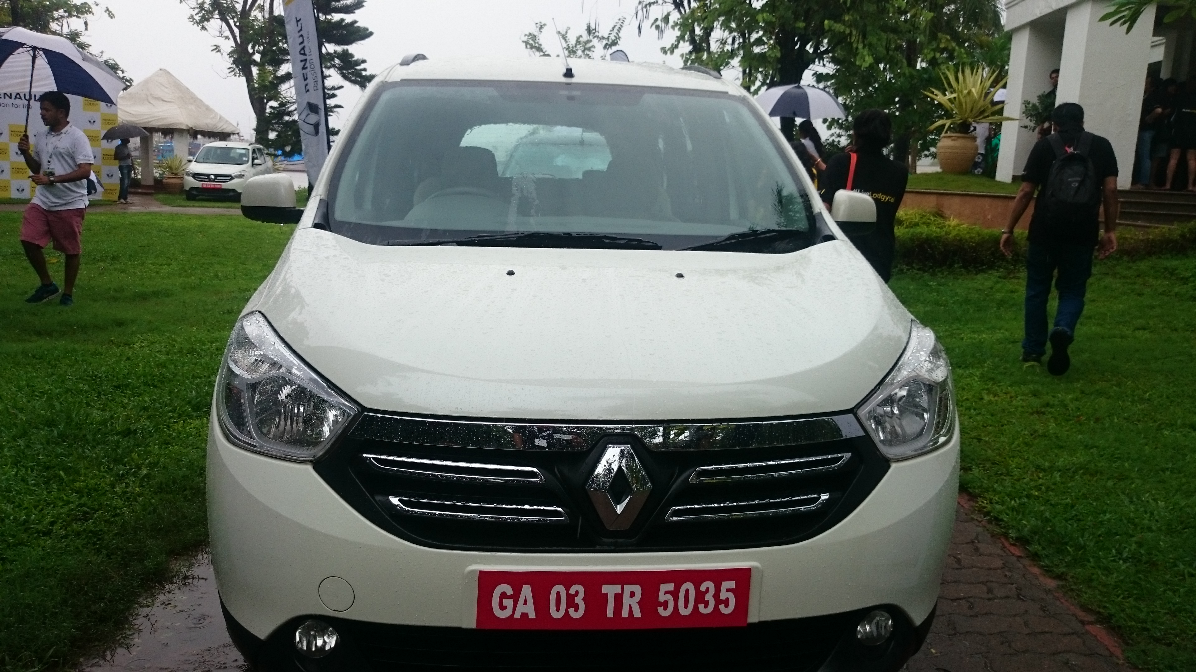 Renault Lodgy Frot Look