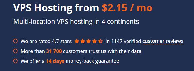 Best VPS Hosting Host1Plus