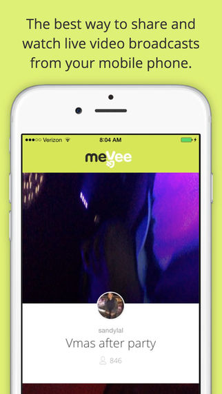 MeeVee Live Streaming