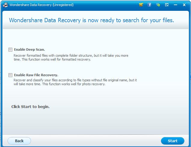 Wondershare Data Recovery Mac