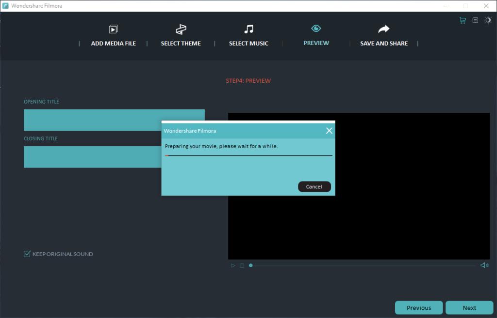 movie-made-user interface
