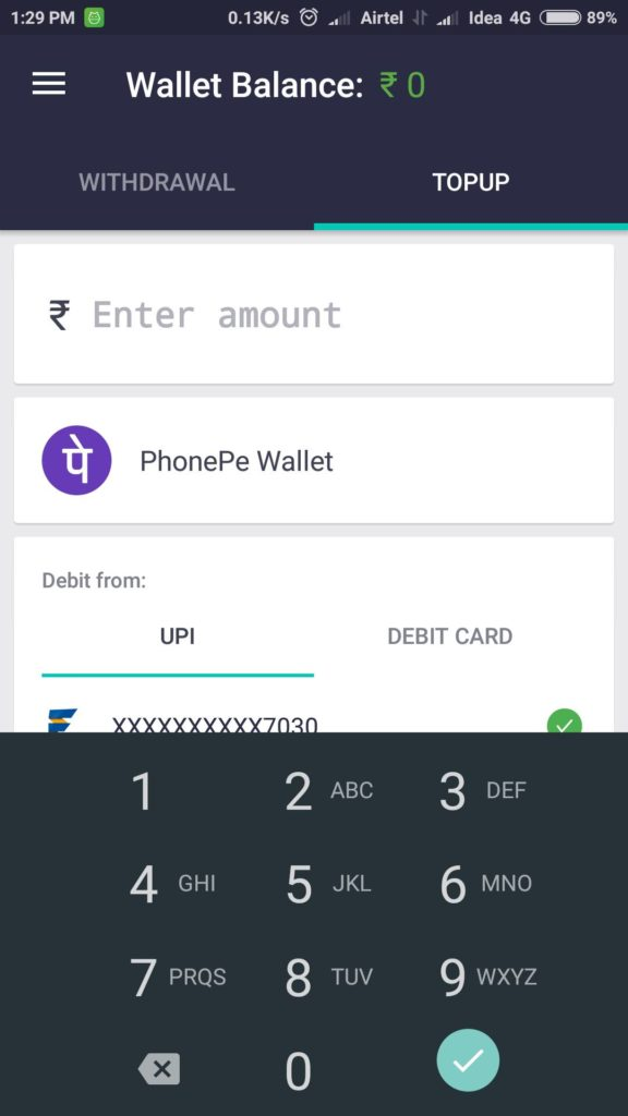 PhonePe Wallet