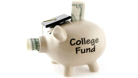 Pay for college funds