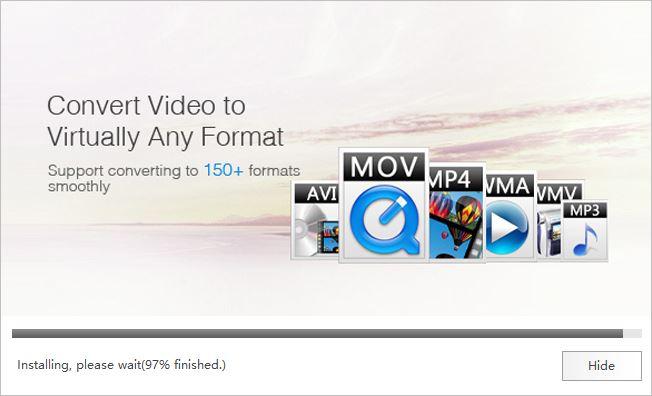 Wondershare Video Converter Ultimate Installation