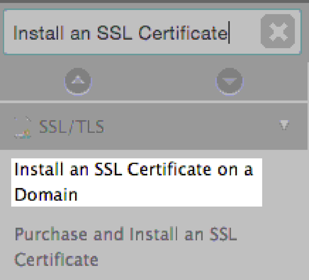 install ssl on domain