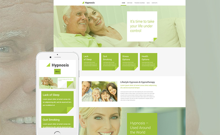 Hypnosis WordPress Theme