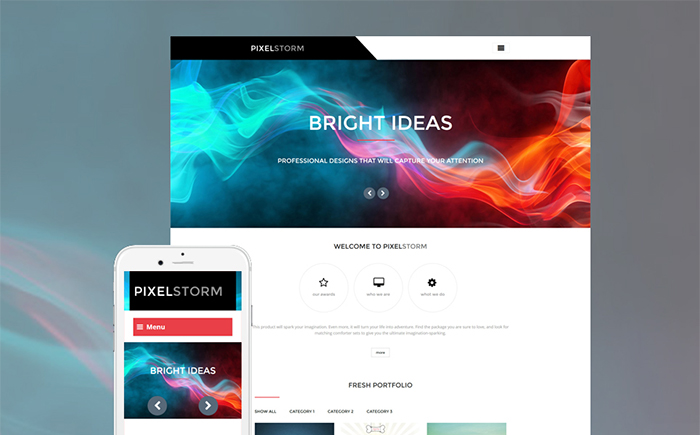 Pixel Storm WordPress Theme