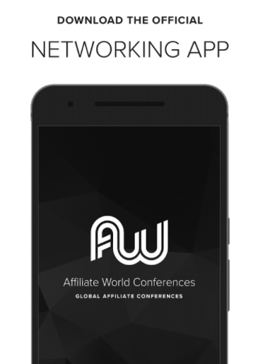 networking app for affiliate world Asia