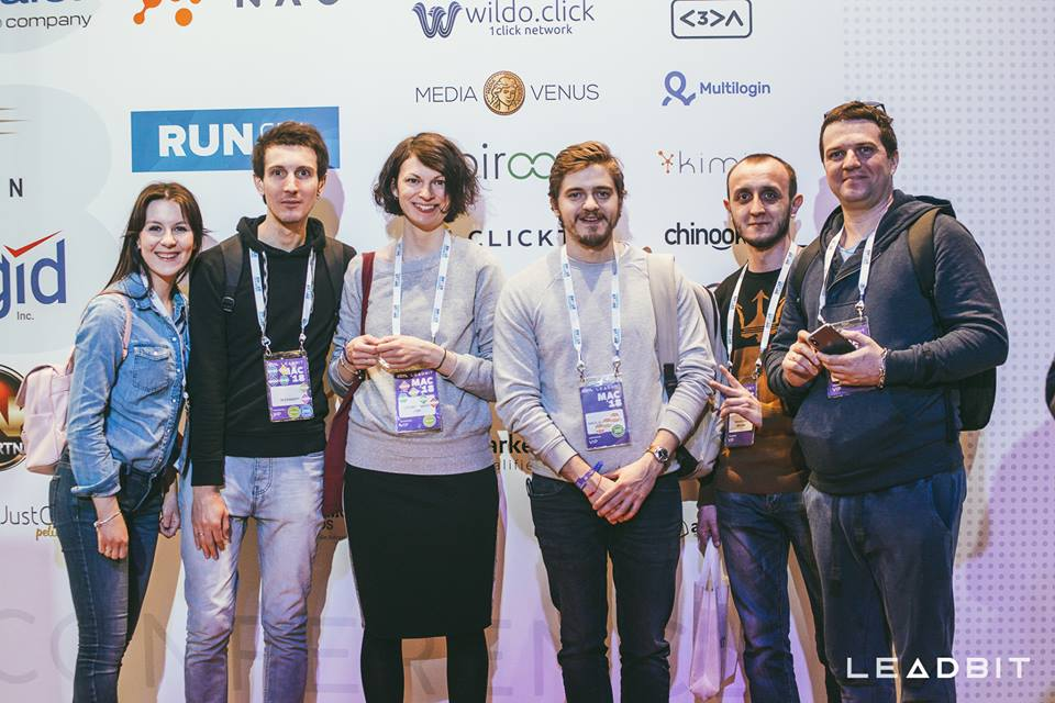 Moscow Affiliate Conference 2018 team