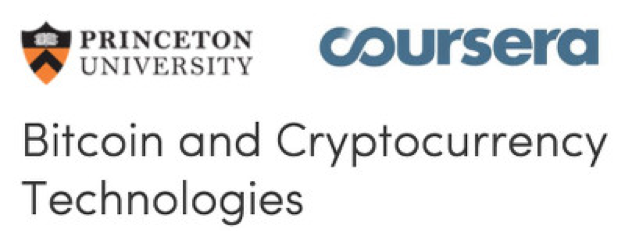 Coursera Cryptocurrencies Course