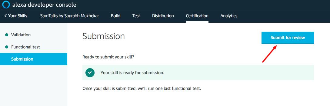 Alexa Skills Kit Developer Console-12
