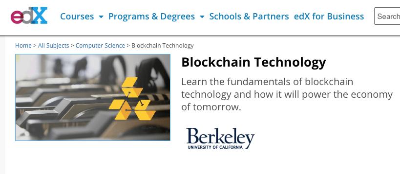 EdX-blockchain-course