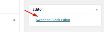 Editor-switch-wordpress