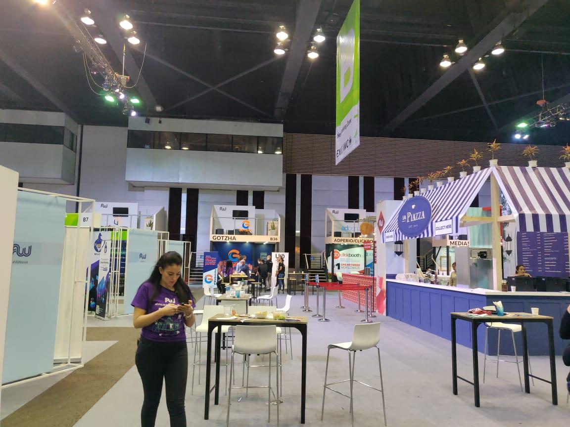 Affiliate World Asia 2018 exhibitors area