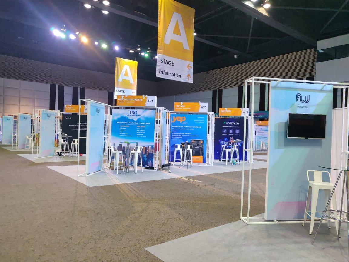 Affiliate World Asia Exhibitors area