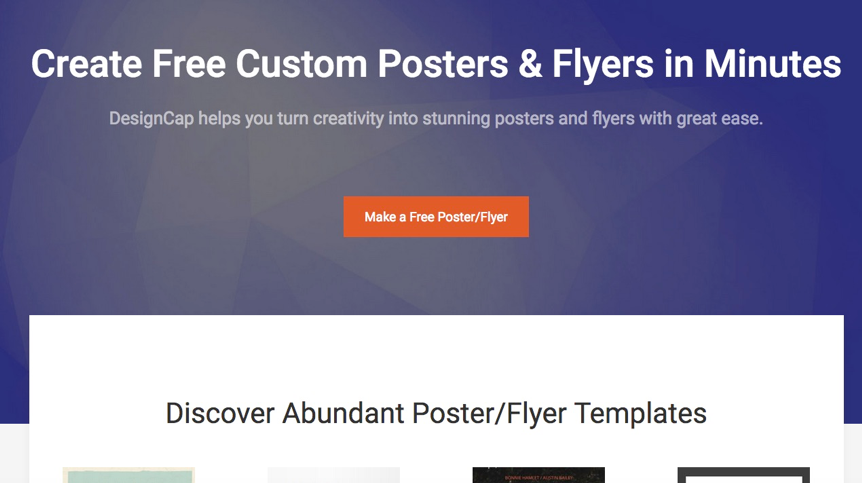 advertising poster creator free online