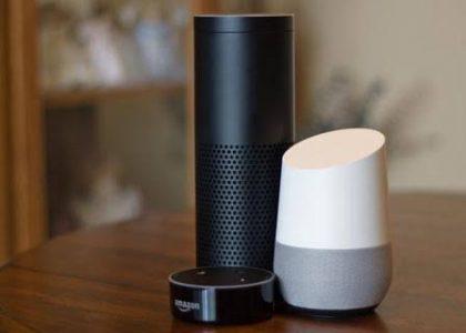 Home automation using Amazon Echo Google home