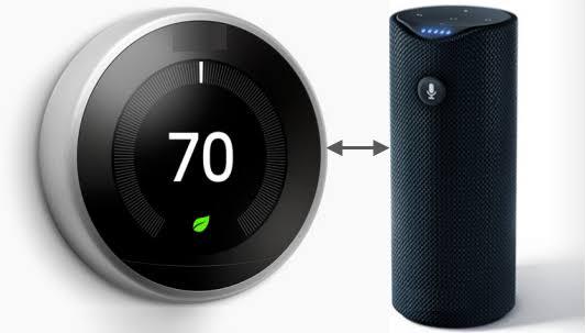 Amazon Echo Nest Thermostat