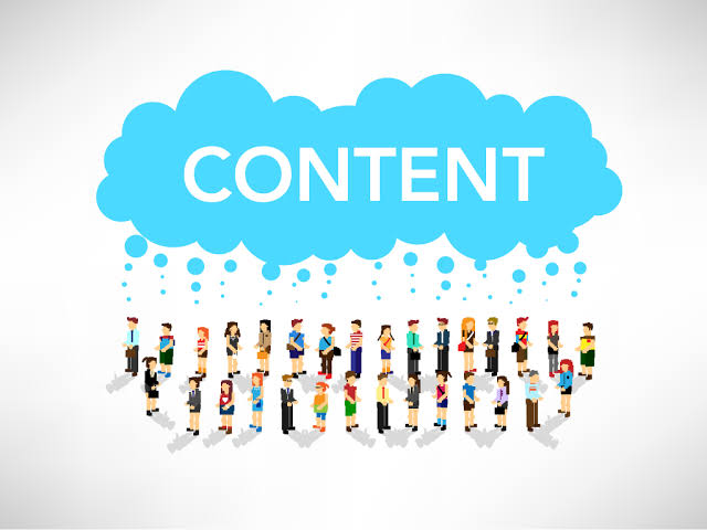 Content sharing user generated