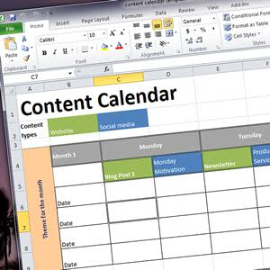 Post schedule for content