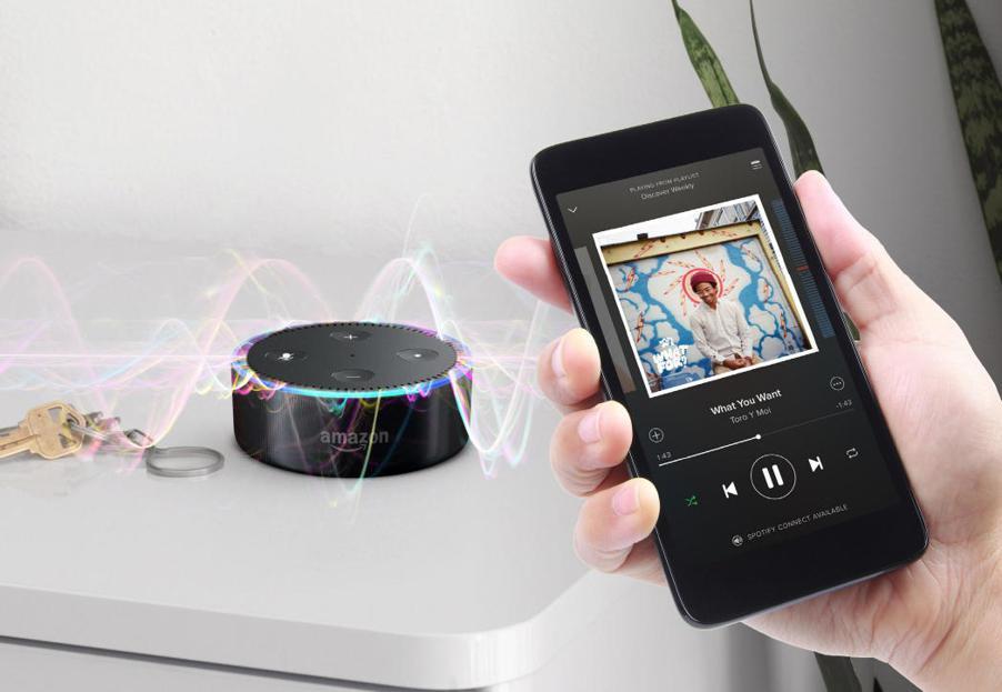 Amazon echo offline songs play Bluetooth pairing