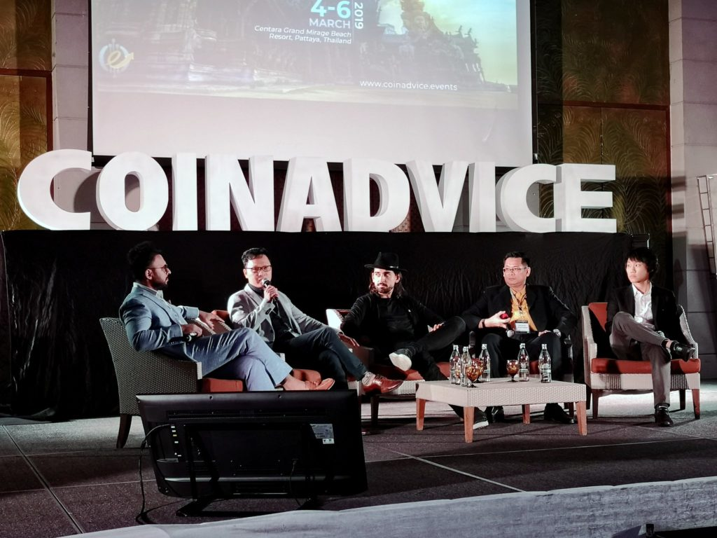 CoinAdvice Blockchain Conference Panel Discussion
